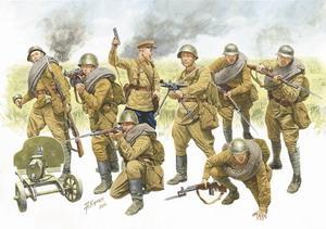 Сборная модель Пехота Красной Армии