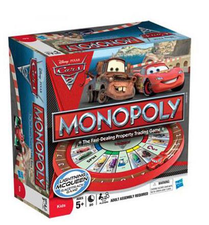 Настольная игра Монополия Тачки 2 Monopoly
