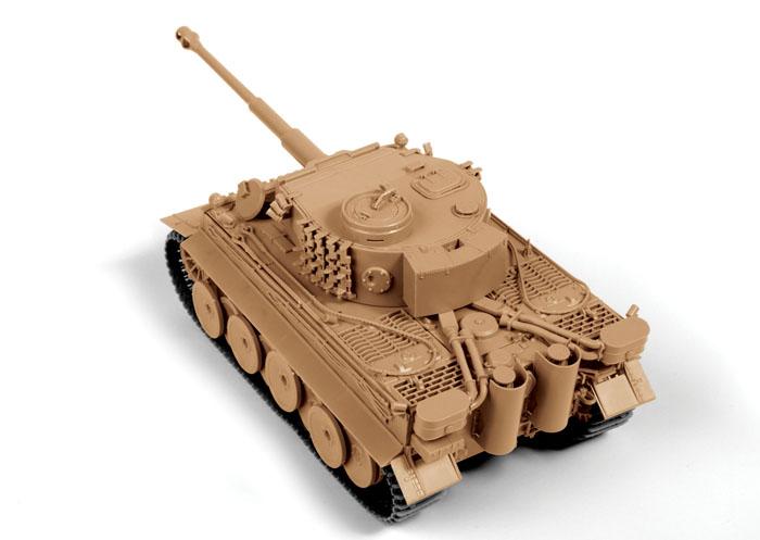Сборная модель немецкий тяжелый танк