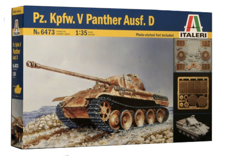 Модель Пантера PANTHER AUSF.D