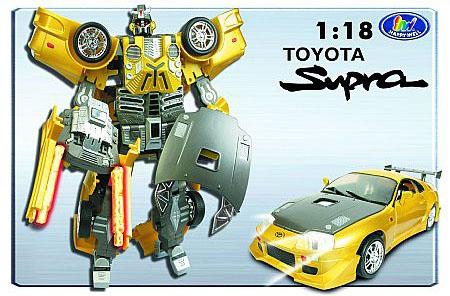 Робот-трансформер Roadbot Toyota - Supra (1:18 )