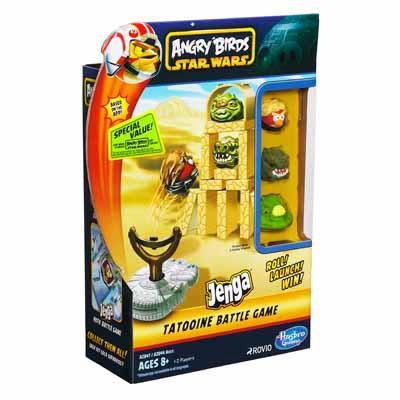 Настольная игра Angry Birds JENGA TATOOINE
