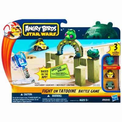 Настольная игра ANGRY BIRDS STAR WARS FIGHT ON TATOOINE Battle Game
