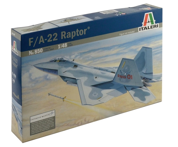 Сборная модель F-22 RAPTOR Раптор