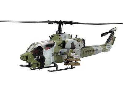 Сборная модель Вертолёт AH-1W Super Cobra