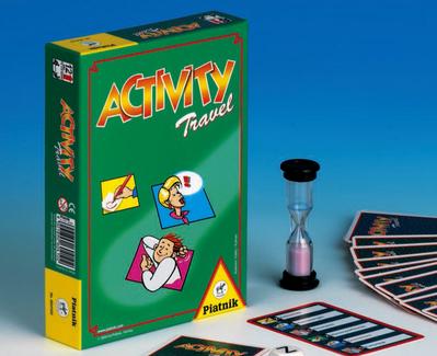 Настольная игра Activity Travel компактная версия