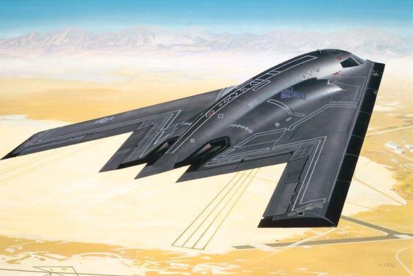 Сборная модель Бомбардировщик Б-2 Northrop B2 Bomber