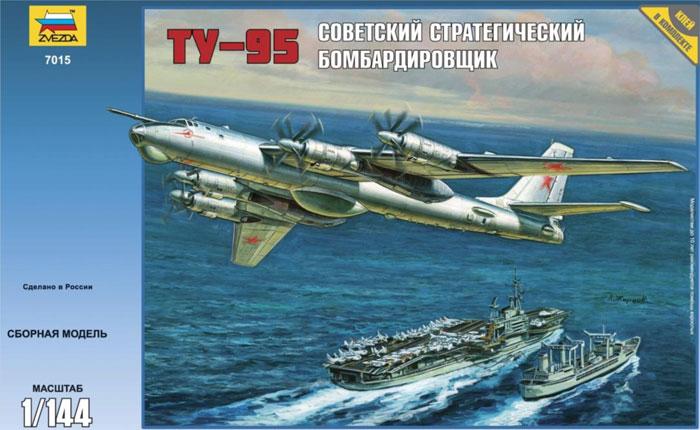 Сборная модель Ту-95