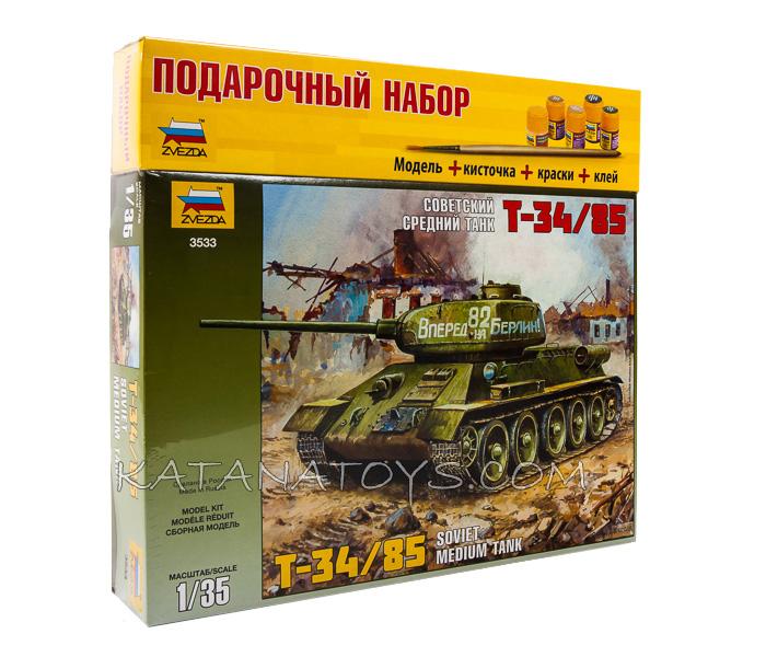 Сборная модель Т-34/85
