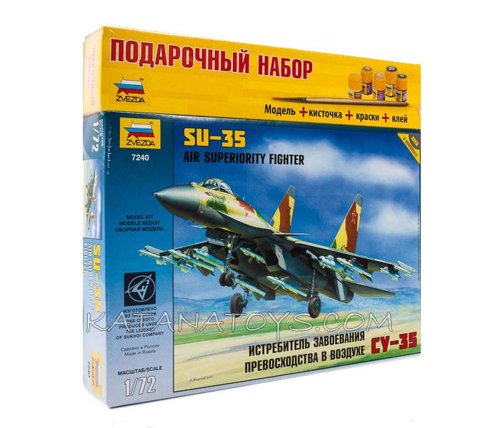 Сборная модель Су-35
