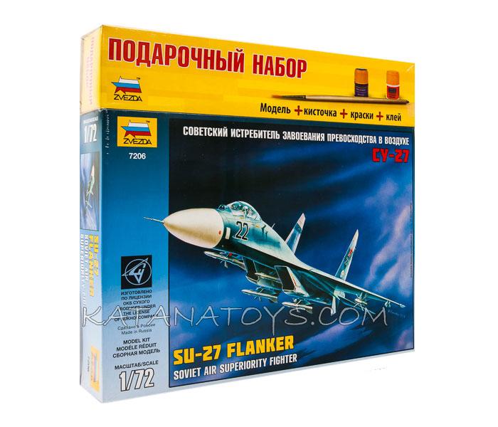 Сборная модель Су-27