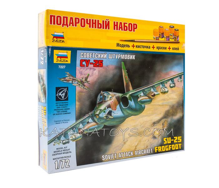 Сборная модель Су-25