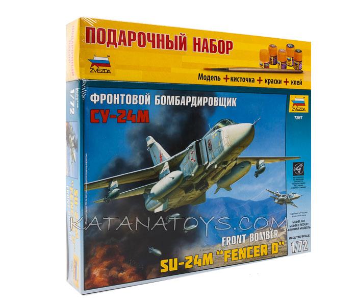Сборная модель Су-24М