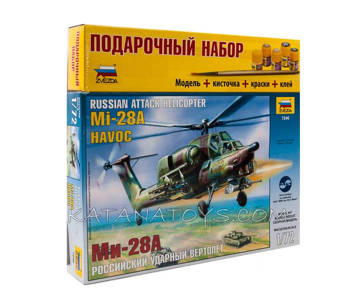 Сборная модель Ми-28А