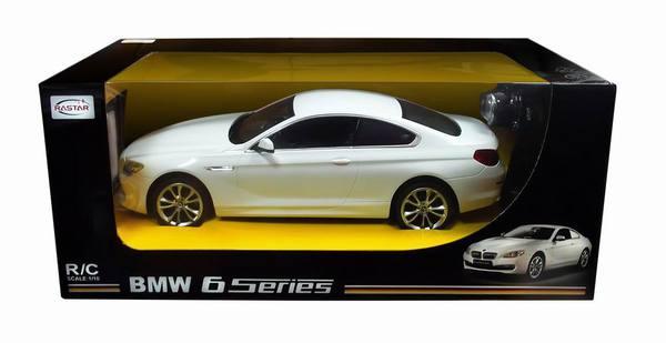 Машина р/у 1:14 BMW 6 серии (БЕЛАЯ)