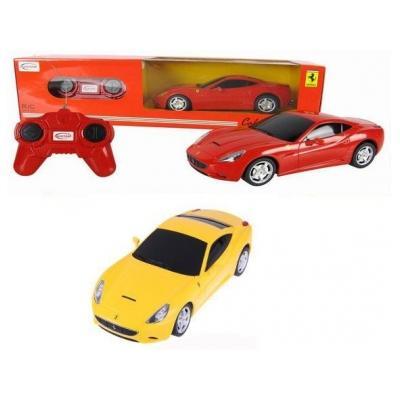 Машина р/у 1:24 Ferrari F12 (ЖЁЛТАЯ)