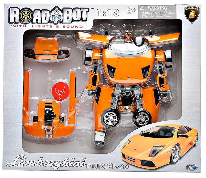 Робот-трансформер Lamborghini Roadbot, 1:18