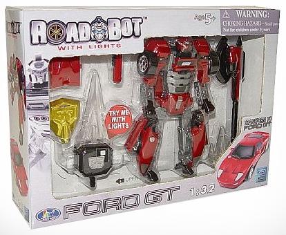 Робот-трансформер FORD GF 1:32