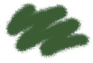 Краска акриловая Акриловая краска серо-зеленая