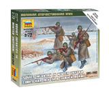 Советская пехота в зимней форме 1941-1942