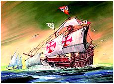 Сборная модель Корабль Христофора Колумба Санта Мария
