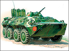 Сборная модель Российский БТР-80