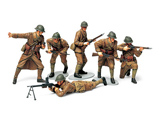 Сборная модель Набор французской пехоты, 6 фигур, с вооружением и амуницией