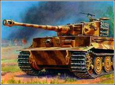 Модель Т-VI Е Тигр (поздних выпусков).