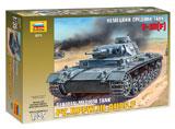 Сборная модель Немецкий средний танк T-III (F)