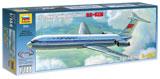 Сборная модель Советский пассажирский авиалайнер Ил-62М