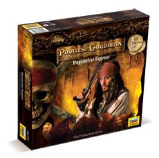 Настольная игра Пираты карибского моря. Пиратские бароны.