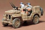 Сборная модель Английский джип SAS Jeep