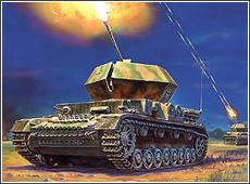 Сборная модель Немецкий зенитный танк Т – IV «Оствинд»