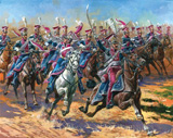 Сборная модель Гвардейские польские уланы 1809-1815 г.