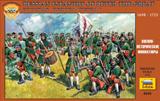 Сборная модель Пехота Петра I