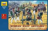 Сборная модель Русская пешая артиллерия 1812-1814 гг.