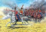 Сборная модель Гвардейские казаки 1812-1814 гг.