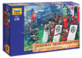 Модель Самураи пехота XVI-XVII н.э.