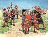Сборная модель Римская пехота II-I вв. до н.э.