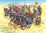 Модель Персидская кавалерия и колесница IV-I вв. до н.э.