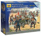 Сборная модель Французская пешая артиллерия 1812-1814