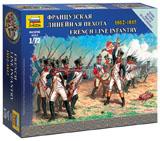 Сборная модель Французская линейная пехота 1812-1815
