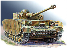 Модель Немецкий средний танк   T-IV H.
