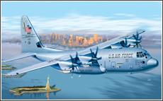 Сборная модель C-130J HERCULES (Геркулес)