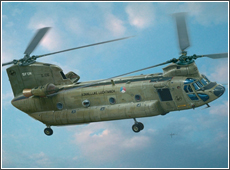 Сборная модель Вертолёт CH-47D Chinook