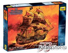 Сборная модель Чёрная жемчужина - Черная жемчужина - корабль Джека Воробья
