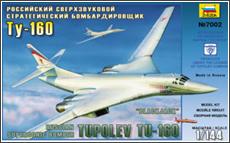 Модель Бомбардировщик Ту-160