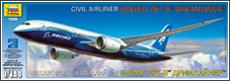 Сборная модель Боинг 787-8 ДРИМЛАЙНЕР