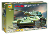 Сборная модель Советский средний танк Т-34/76 (обр. 1942 г.).