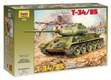 Сборная модель Т-34/85 Советский средний танк Т 34/85